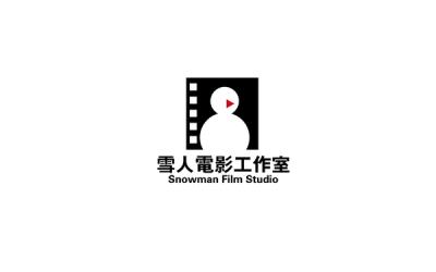 雪人电影工作室logo设计