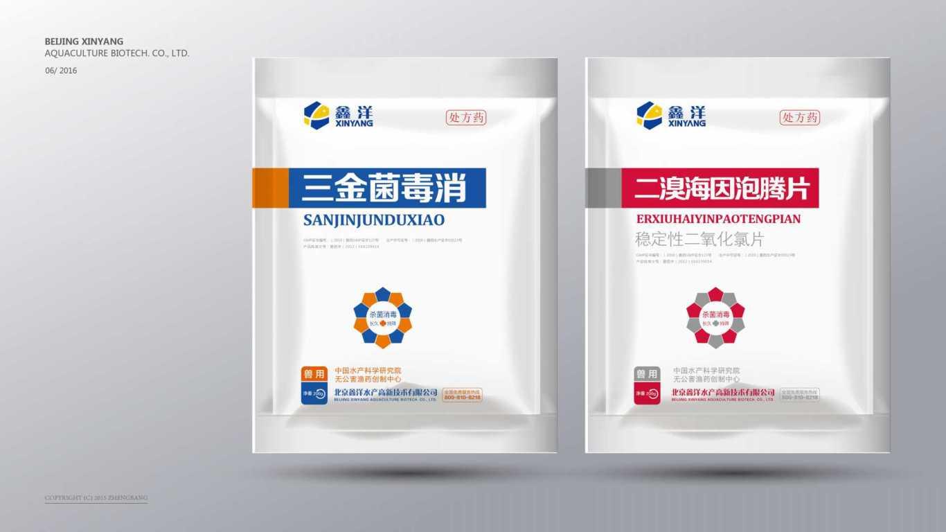 鑫洋医疗品牌包装设计中标图9
