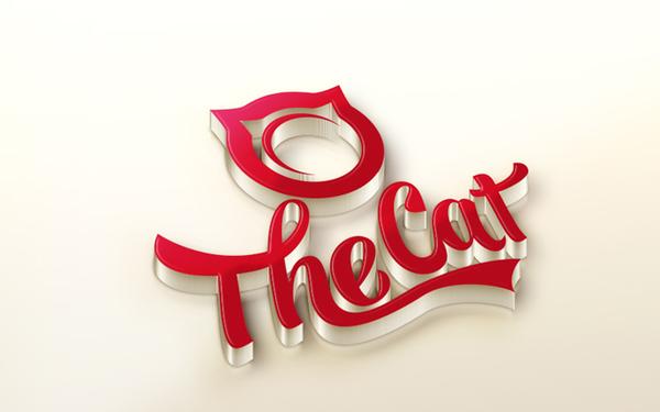 猫小喵餐饮LOGO