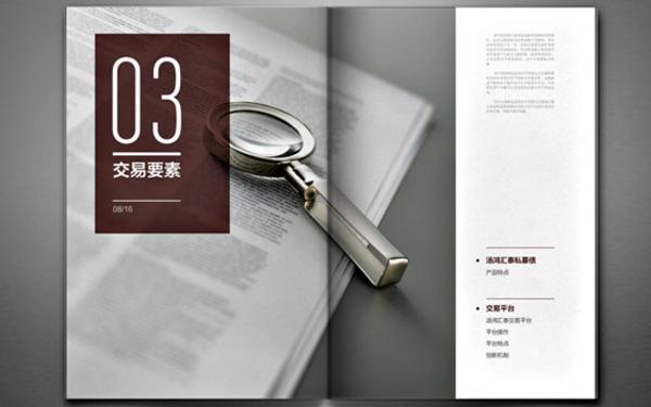 汤鸿集团画册设计