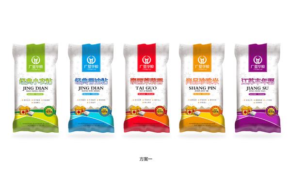 广垦华粮品牌包装设计