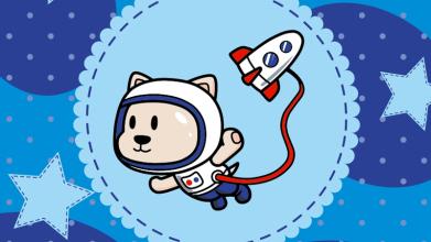 宇航动物吉祥物设计