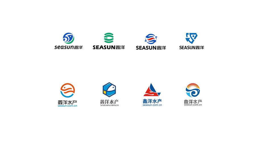 鑫洋水产高新技术有限公司LOGO设计中标图3