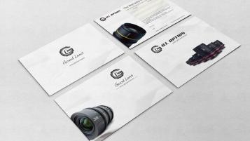 Good lens電器品牌宣傳單設計