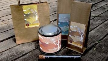 茶包餐盒图案设计