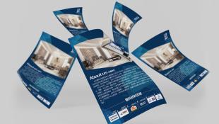 jjt房地产品牌广告单页设计
