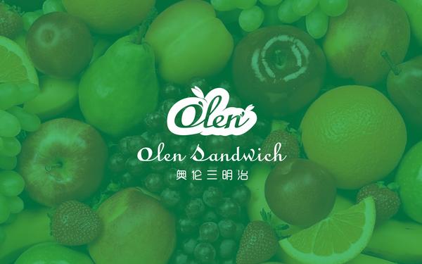Olen Sandwich logo 设计 FORMER