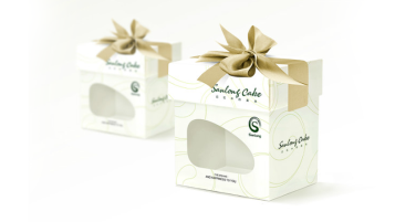 cheese cake食品品牌包装盒设计