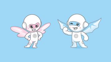 益安通電子品牌吉祥物設計