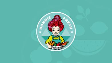 波妞生鲜食品/零食品牌LOGO设计