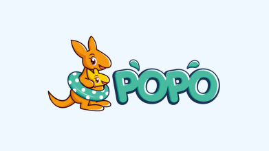 popo母嬰產品LOGO設計