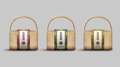 龟兹果园手提袋设计