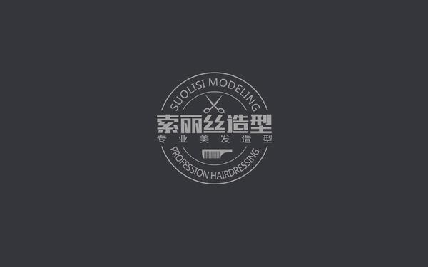 南京索丽丝发型工作室LOGO设计方案