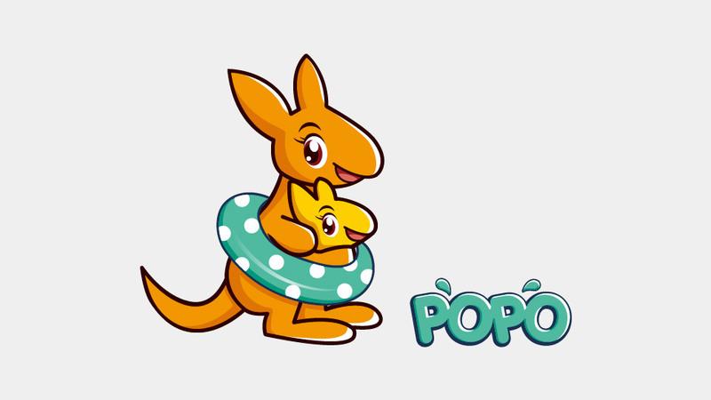 popo日用品品牌吉祥物设计