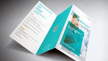 顶誉医疗品牌广告折页设计