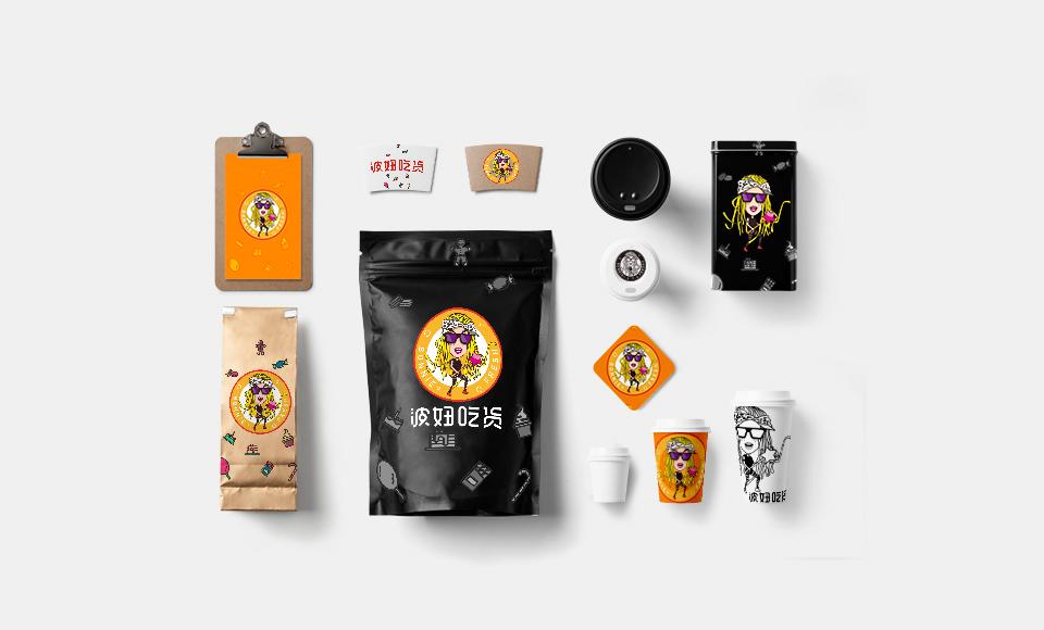 波妞食品电商品牌吉祥物设计中标图0