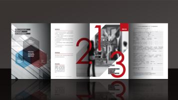 长江商学院广告折页设计