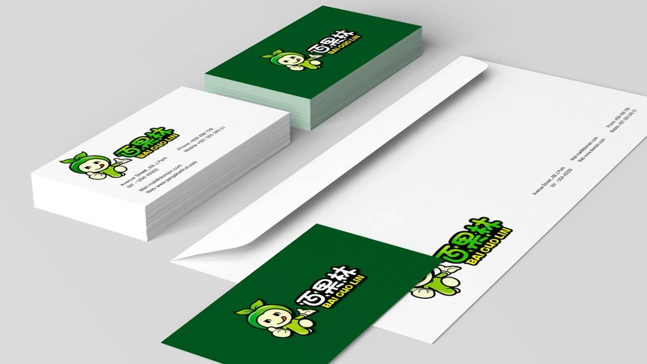 百果林食品品牌吉祥物设计中标图1