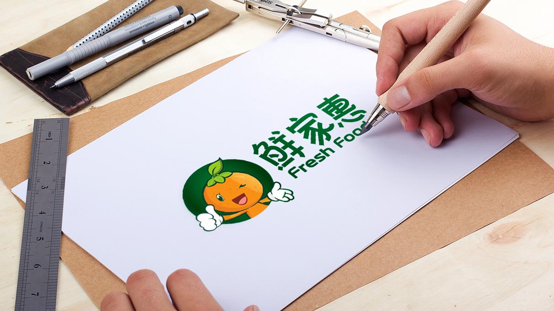 鲜家惠食品品牌吉祥物设计中标图1