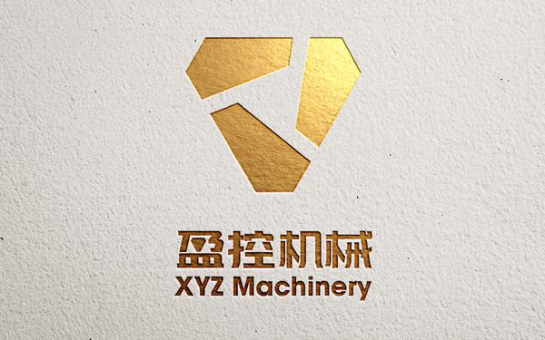 盈控机械logo设计