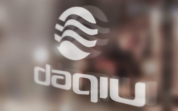 daqiu品牌卫浴标志设计