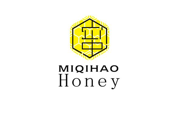 miqihao honey 品牌标志设计