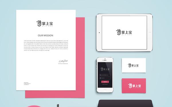 青岛至尊宝电子商务有限公司旗下 掌上宝logo