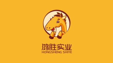鴻勝實業品牌LOGO設計