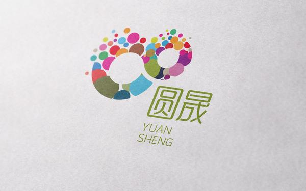 圆晟集团标志设计