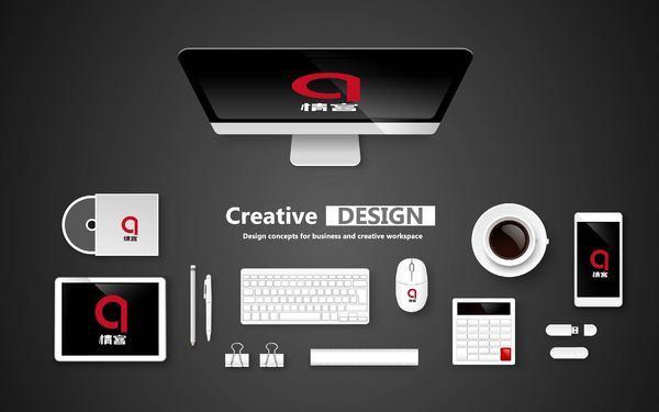 情客网logo品牌设计