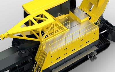 矿山机械 矿用车辆设计大型露...