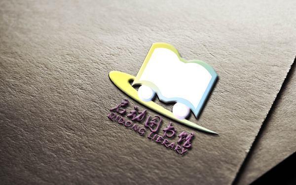 启动图书馆logo