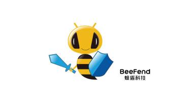 蜂盾電子品牌吉祥物設計