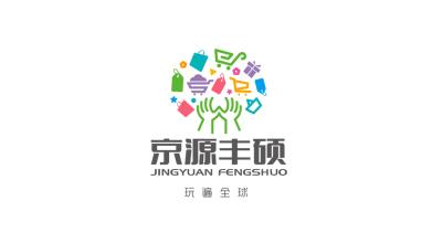 京源豐碩商超品牌LOGO設計