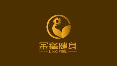 King feel健身品牌LOGO设计