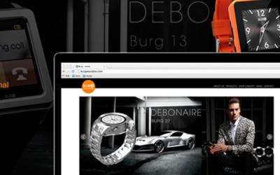 Burg智能手表网站设计