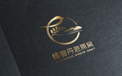 缅甸老燕窝品牌LOGO设计