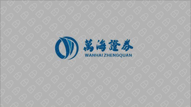 萬海證券(金融机构)LOGO设计入围方案2