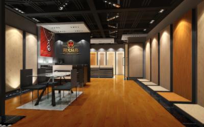 地板专卖店设计 展示设计
