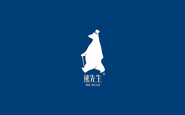 熊先生品牌logo设计