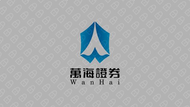 萬海證券(金融机构)LOGO设计入围方案4