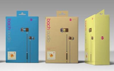 巴赫耳机包装盒设计