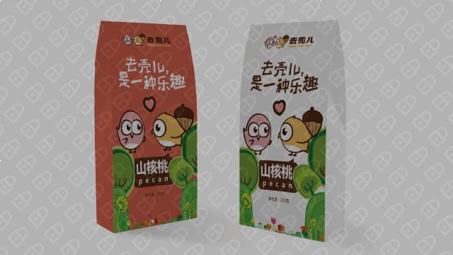 去壳儿食品品牌包装设计入围方案1