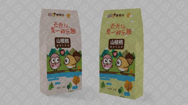 去壳儿食品品牌包装设计入围方案0