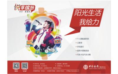 中国银行海报
