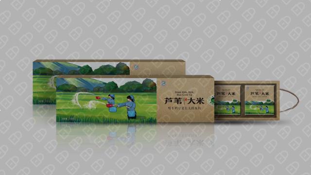 红兴隆农垦包装设计入围方案2