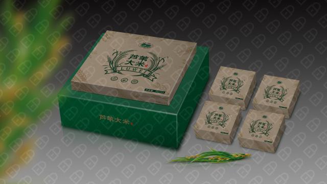 红兴隆农垦包装设计入围方案4