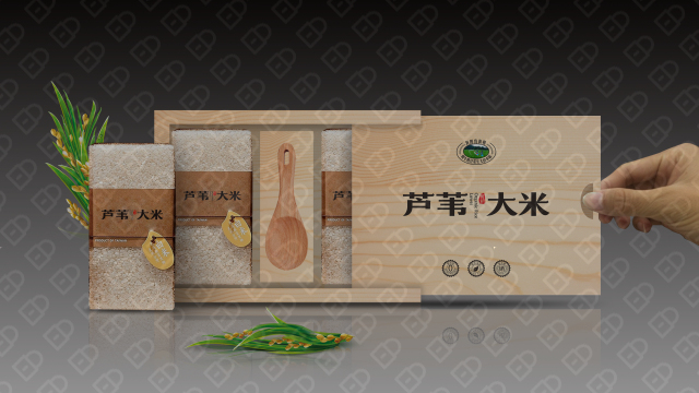 红兴隆农垦包装设计入围方案5