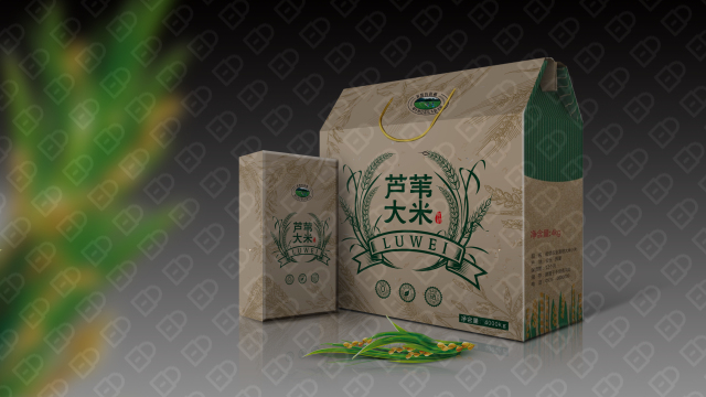 红兴隆农垦包装设计入围方案3