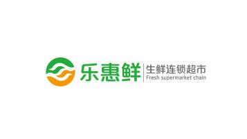 樂惠鮮生鮮連鎖超市LOGO設計
